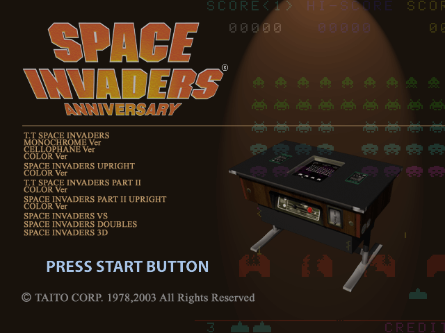 Space Invaders Anniversary (PlayStation 2, 2003) #spaceinvaders https://t.co/AfUp5SqJZn