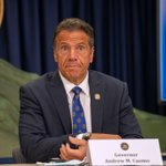 Image for the Tweet beginning: Cuomo takes heat over deadly