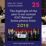 Image for the Tweet beginning: tbt ICAT Retreats 2017, 2018,