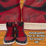 Image for the Tweet beginning: Rare pair of Michael Jordan