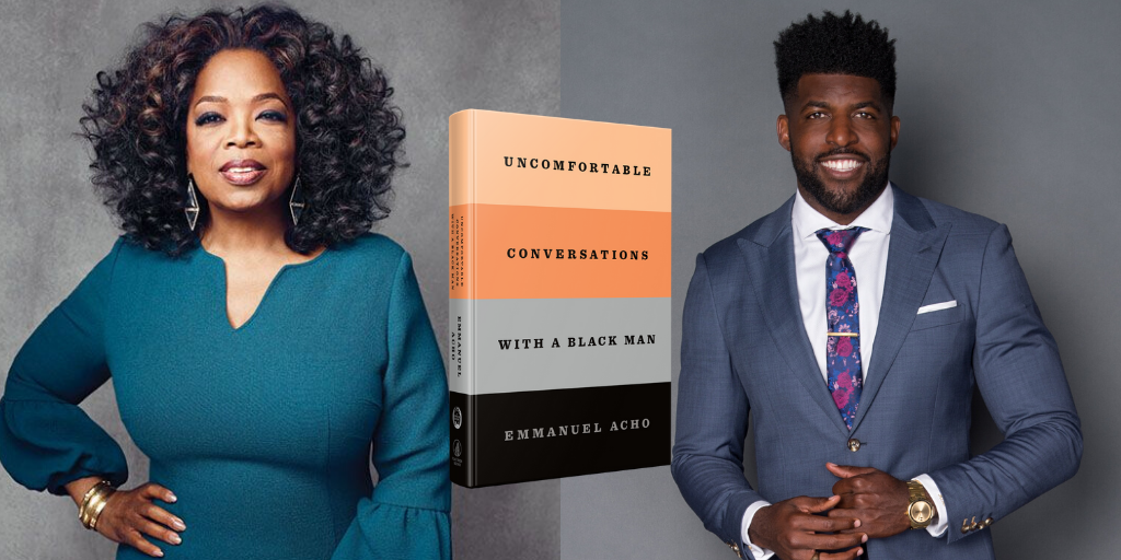 The biggest announcement of my life!  Uncomfortable Conversations with a Black Man- THE BOOK!! Huge thanks to my partner @Oprah.  We can change the world, together ❤️.  Order NOW at: