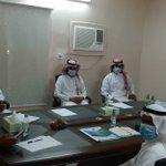 Image for the Tweet beginning: زيارة جمعية البر الأهلية بمركز