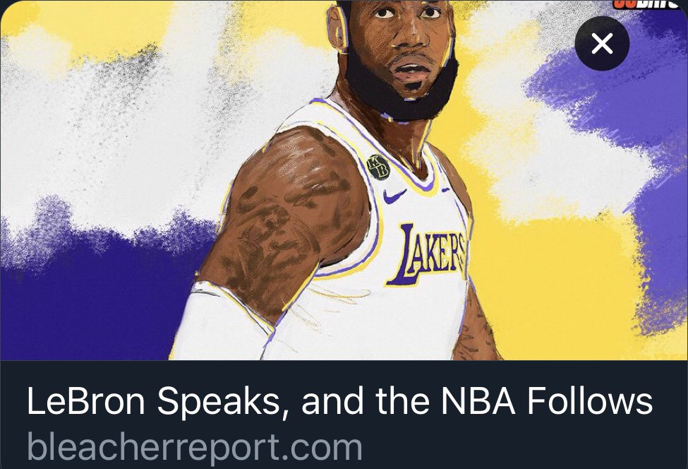 """From the article """"If MJ would've been outspoken, you would've seen more players during that day outspoken as well....now you have the main person in the sport speaking out and it tells everyone else that they don't have to be afraid and can speak out too"""" https://t.co/3K4JOp2qfx https://t.co/hEnCRH0d0A"""