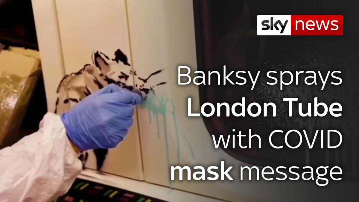 @SkyNews's photo on Banksy