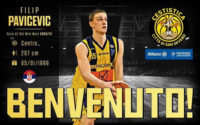 Ufficiale: Filip Pavicevic firma per San Severo