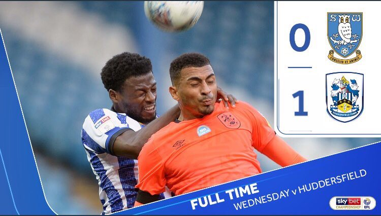 Full Time at Hillsborough #swfcLIVE https://t.co/bvqlBEFBMv