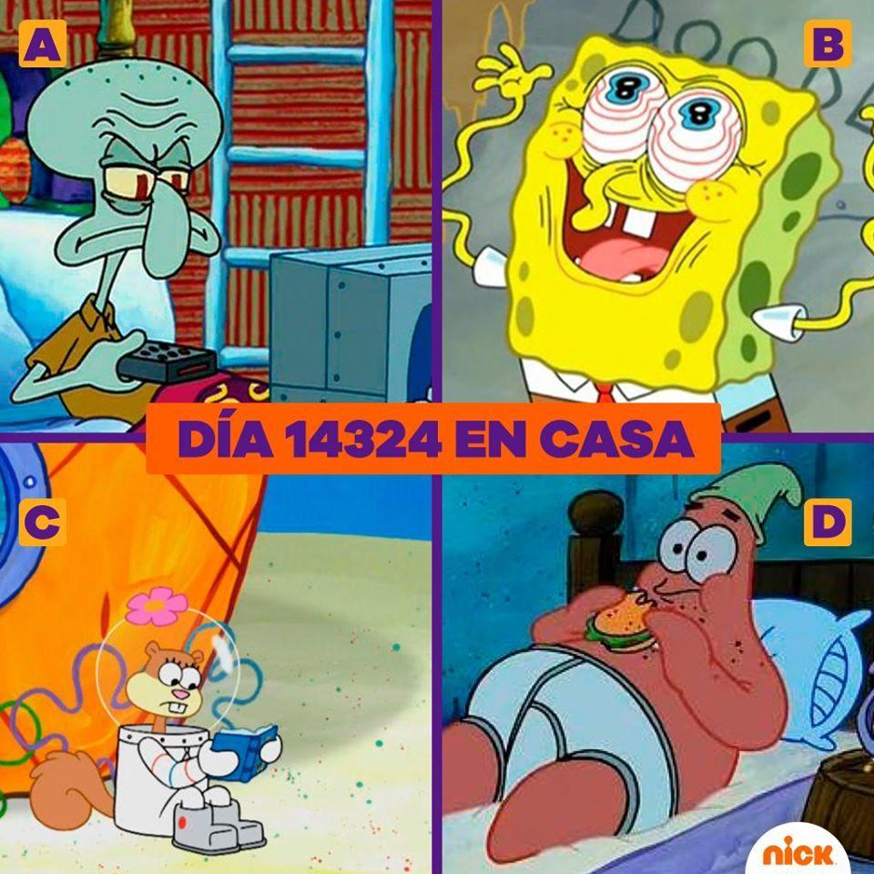 #HappyBirthdayBob! 🧽  ● ¡Feliz cumple, Bob Esponja! ●  SpongeBob   #BobEsponja [18:15 @MundonickLA B59•D310•HD193] https://t.co/ulNRLyM1JA