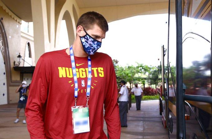 NBA – Nikola Jokic è arrivato a Orlando