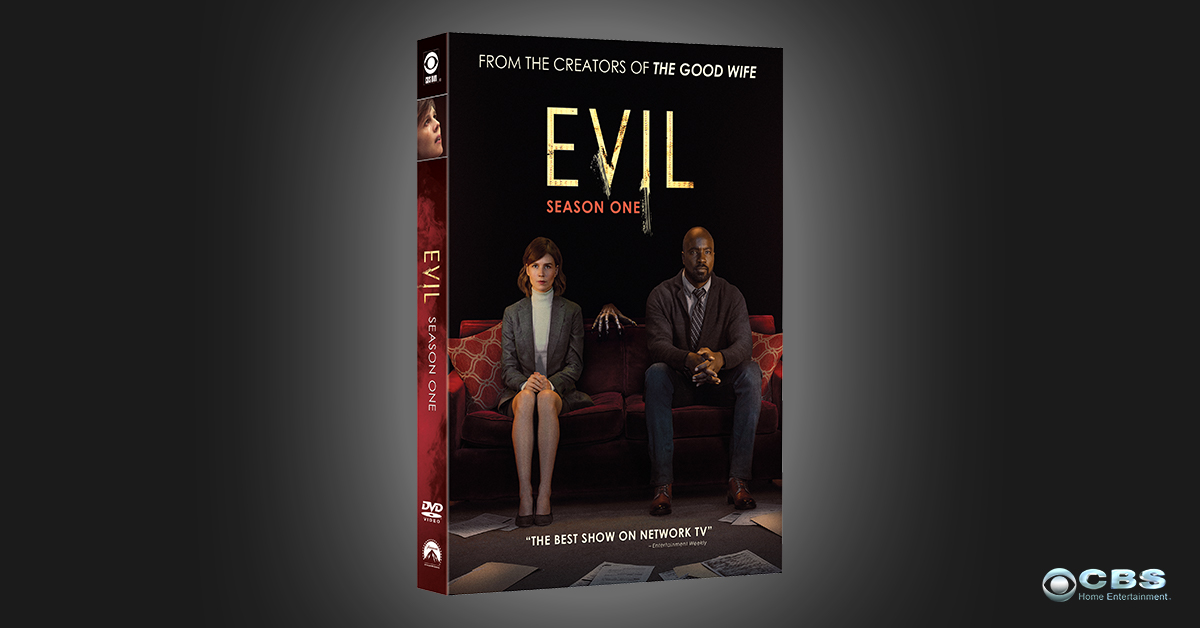Experience a tingle of fear. Order #Evil today: cbshe.com/Evil1