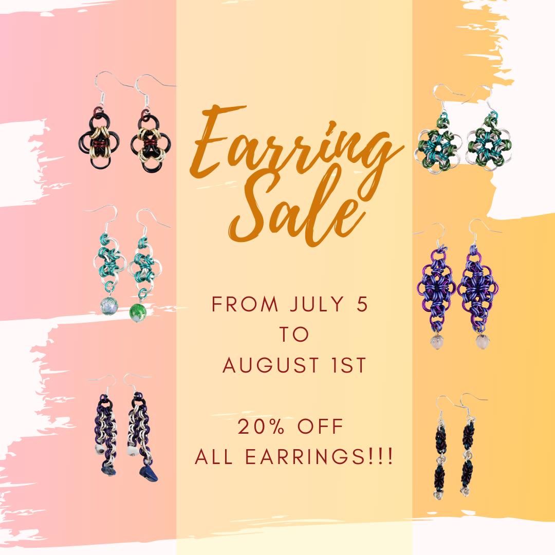 20% OFF ALL JULY!!!!! https://buff.ly/2UvqX2b #earrings #earringsoftheday #earringstagram #earringswag #earringshop #earringsforsale #earringsLover #earringsaddict #earringshandmade #earringsfashion #earringsthailand #earringsshop #earringslove #earringsph #earringstudspic.twitter.com/RFY7BQmxvu