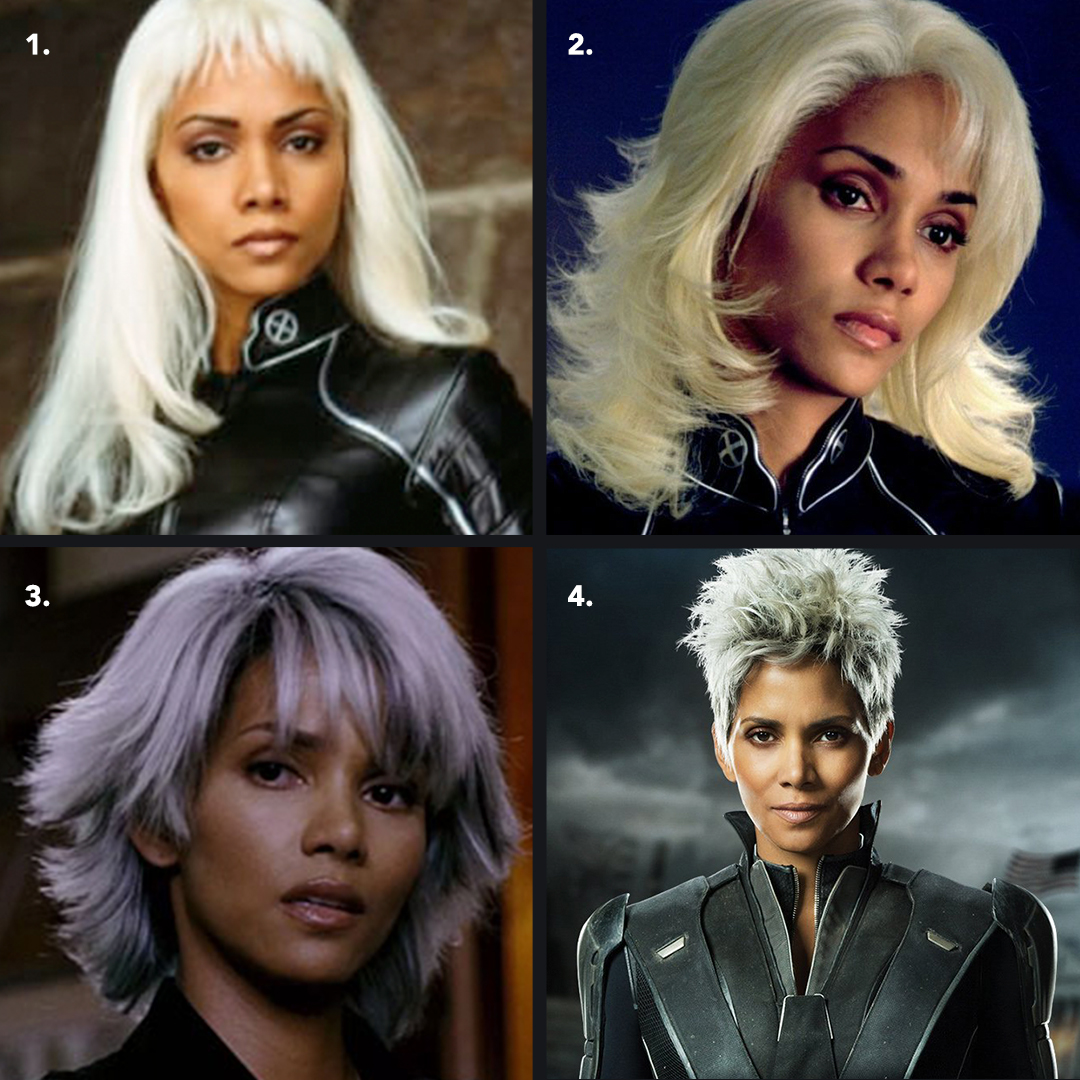 Halle Berry On Twitter Wigwars Which Storm Look Takes The Cake Xmen20thanniversary