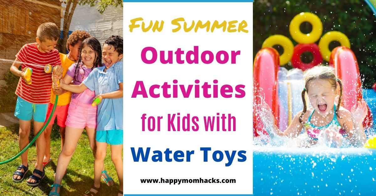 Keep Kids Cool this Summer with fun Water Activities for your Backyard. #kidsactivities #activitiesforkids #kidsathome #summertime #kids buff.ly/3j6sQwC