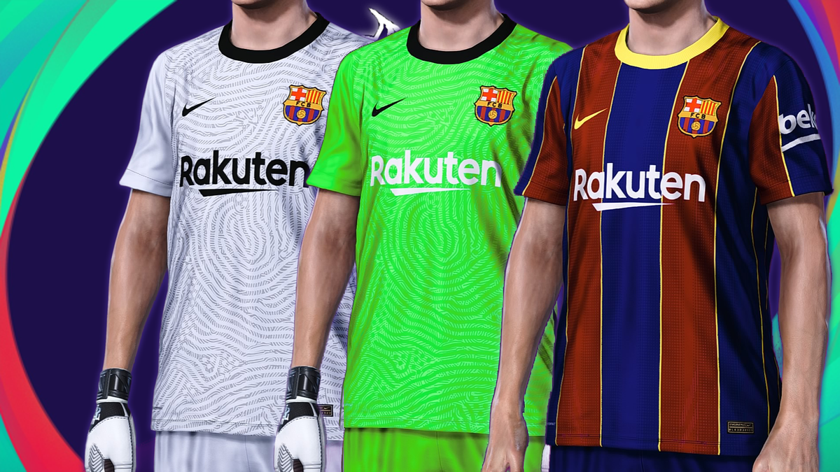 marcus on twitter fc barcelona home update gk kit 20 21 download from here https t co ah7pizm9fx i hope you like it greetings laliga premier league seriea barcelona realmadrid fc barcelona home update gk kit