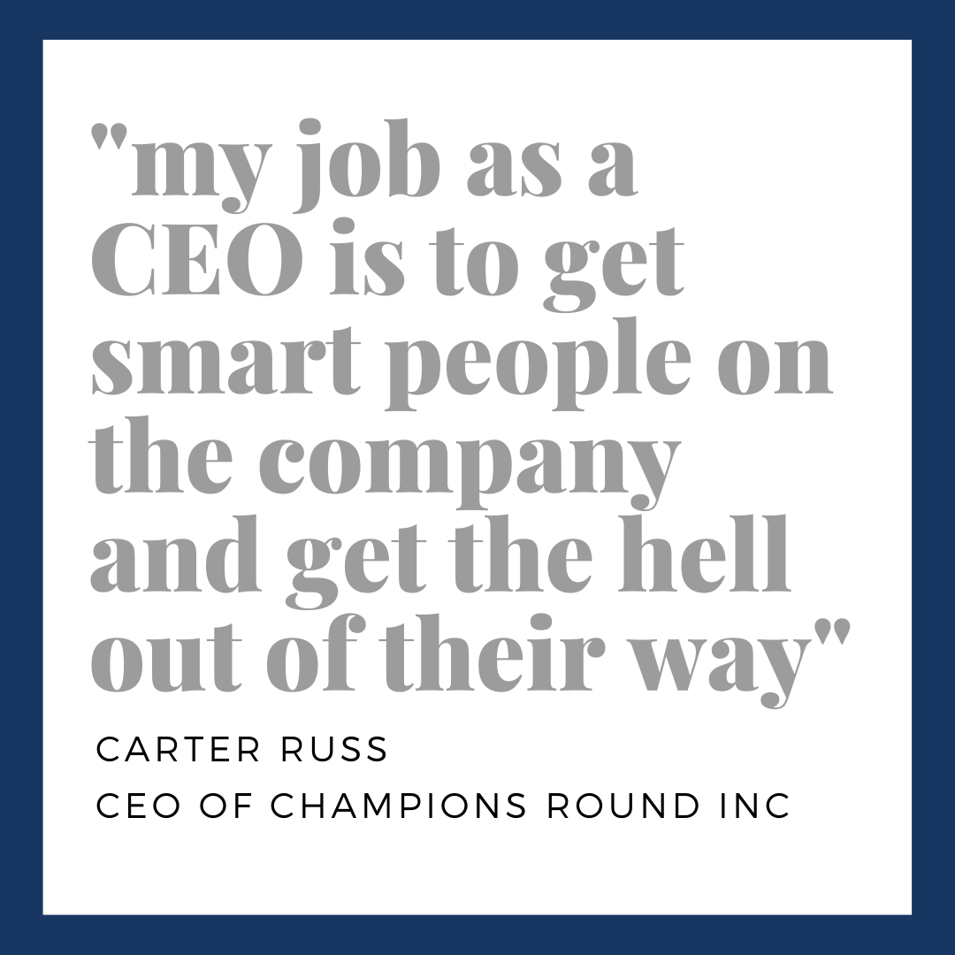 @Carteruss gets straight to the point about being a startup's CEO! You can watch the full episode of our latest podcast here: https://t.co/tihcRUKoGB #startup #business #company #esports #tech #mobilegame #podcast #episode #listennow #founders #ceo #art #expertdojo #santamonica https://t.co/pLP7ZQjDVM