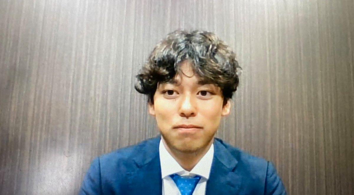 楽天から巨人にトレード移籍高梨雄平投手がオンラインで入団会見を行いました背番号は楽天の時と同じ「53」