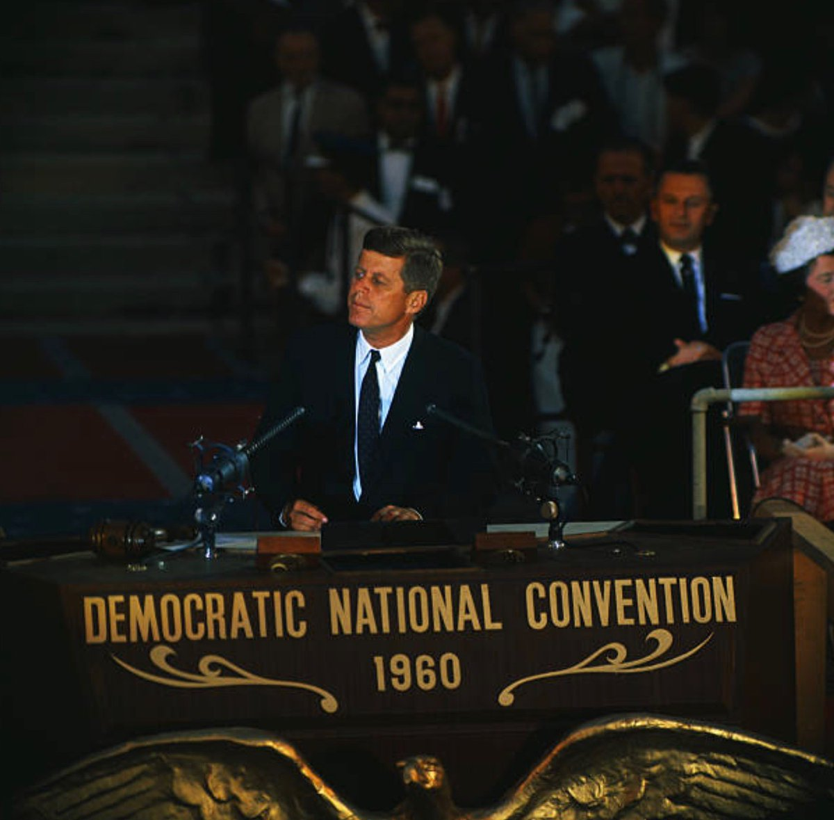 JFK accepts Democratic nomination for President, 60 years ago tomorrow night: #Getty