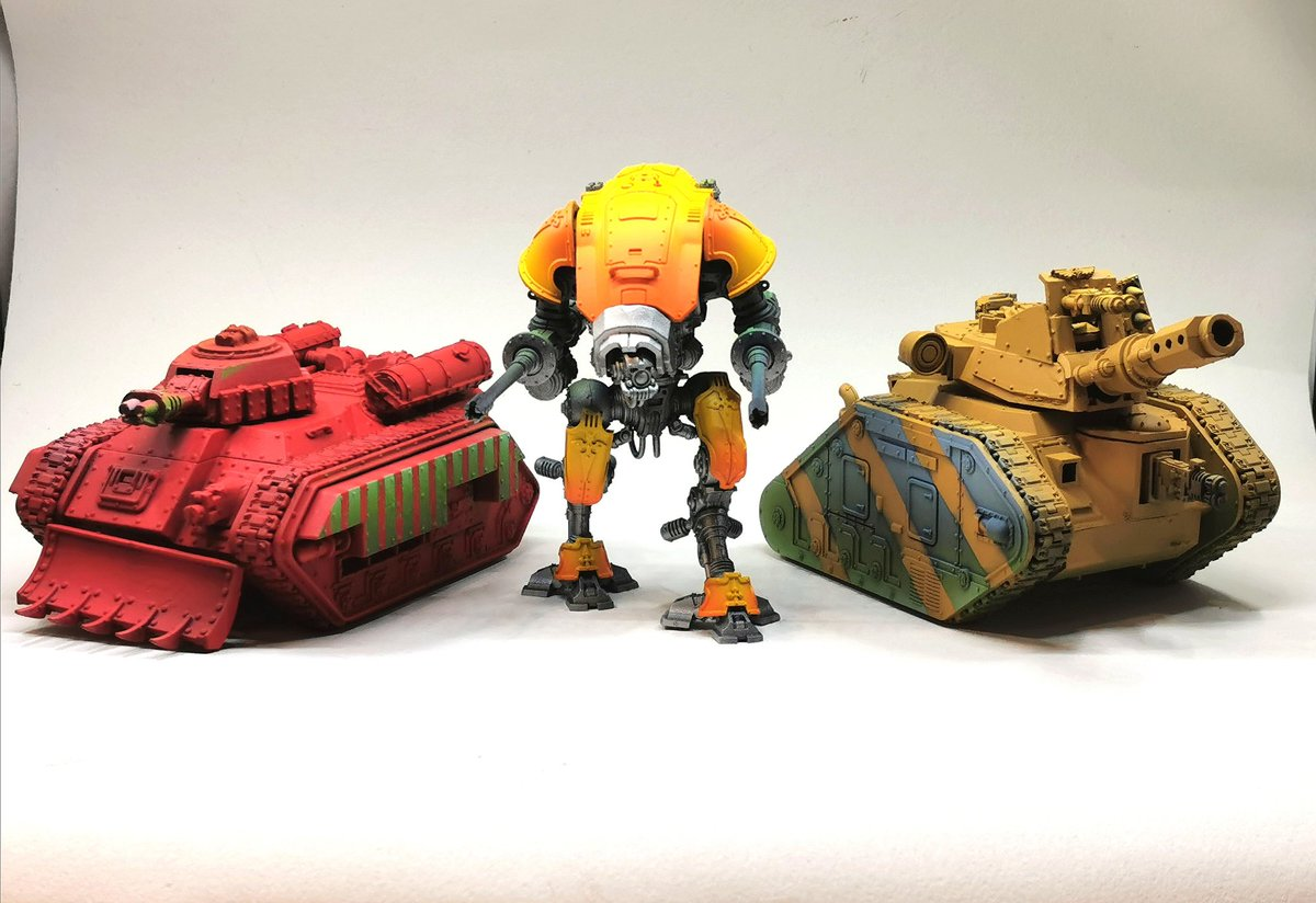 Let's all meet up in the year 40k #warhammer #warhammercommunity #40K #paintingminiatures #minipainting #wepaintminis #paintingwarhammer https://t.co/r9p12O0roq