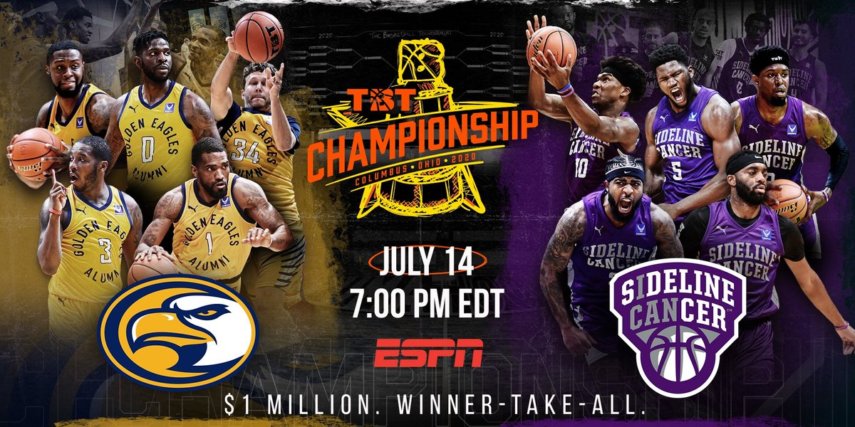 #TheTournament @thetournament #ESPN  BOTH TEAMS giving it their ALL I LOVE IT 🏀 https://t.co/qYAxj80LwT