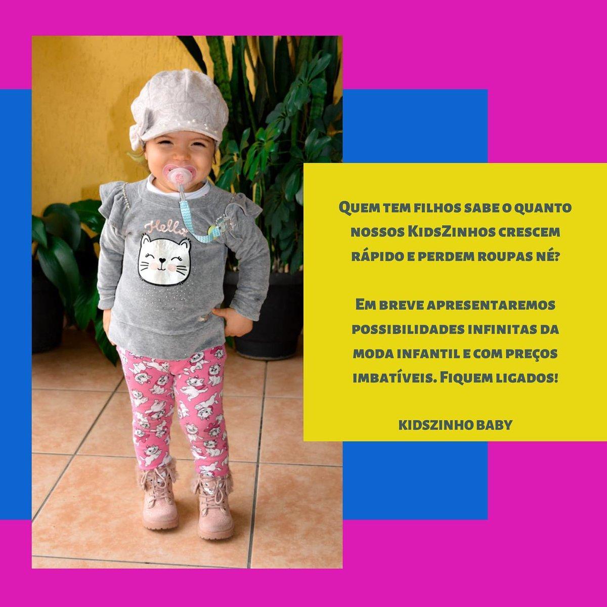 Em breve apresentaremos possibilidades infinitas da moda infantil e com preço imbatível #roupainfantil #modainfantil #maedemenina #maedemenino #fashionkids #bebe #modakids #menino #menina #compras #lookinfantil #gravida #maternidade #modamenina #modamenino #modabebe #mamaeepapaipic.twitter.com/Z1h8rnK2SC