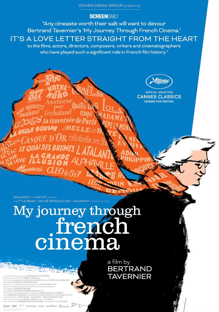 In celebration of Bastille Day, were highlighting a collection of French films this evening beginning with the TCM Premiere of MY JOURNEY THROUGH FRENCH CINEMA (16) directed by Bertrand Tavernier. #LetsMovie