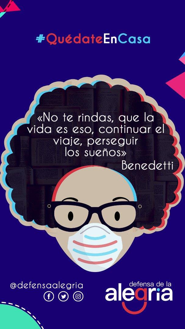 #PoesíaDelSur🌞 «No te rindas, que la vida es eso, continuar el viaje, perseguir los sueños» — Mario Benedetti 🇺🇾 #14Jul #MarioBenedetti #PoesiaLatinoamericana #PoesiaEnCasa