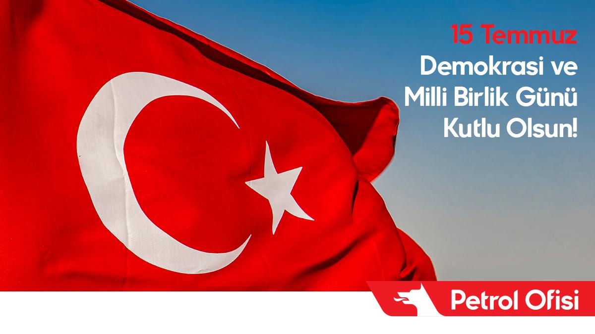 15 Temmuz Demokrasi ve Milli Birlik Günü'nde tüm şehitlerimizi saygı ve rahmetle anıyoruz. #15Temmuz https://t.co/kCmAjPOZhm