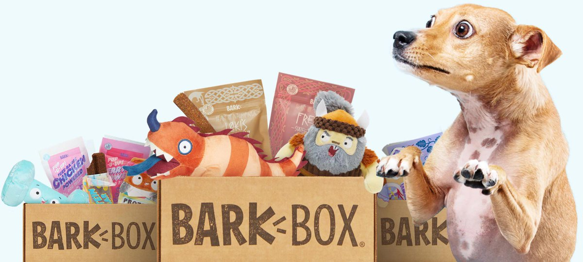 Best subscription service we have ever did!!!  BarkBox is a monthly adventure, starring you and your dog! With a new theme every month, each BarkBox opens up to a whole new world.   https://barkbox.snlv.net/QLmD9  #BarkBox #BwcDealspic.twitter.com/c98vZGM3cn