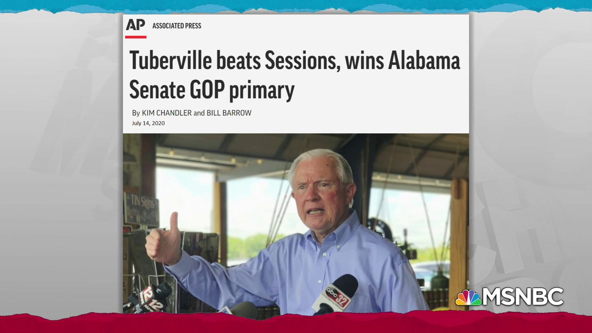 AP: Jeff Sessions fails to win Alabama GOP nomination for his old Senate seat, loses to Tuberville https://t.co/C8THYiNMUN