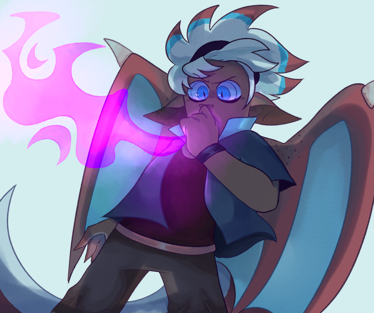 Have my dragon baby, Alfred !! #OriginalContentArtist #originalcharacter pic.twitter.com/cx4W7it4A0