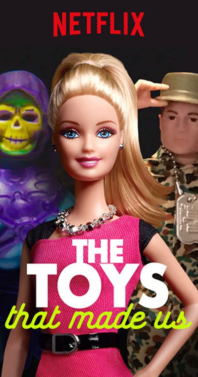 Doc 18 of 2020: The Toys that Made Us Finished watching all available episodes & I really dig this show. It's nice tv to just pick up & chill with, also it very much gave me a nostalgia boner. I wouldn't call it deep or must see, but it's fun nonetheless. Catchy theme song, too