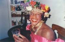 This is Marsha P Johnson. One of the many trans people at the stonewall riots in 1969. She was literally there day one of the riots and was sick and tired of being mistreated by cops and people in general back than. https://t.co/UHMevgh5C3
