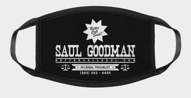Who wants a mask?  Just retweet and be sure you're following me. I'll DM a few of you!  Good luck!  #BetterCallSaul https://t.co/JyzDgCacg7
