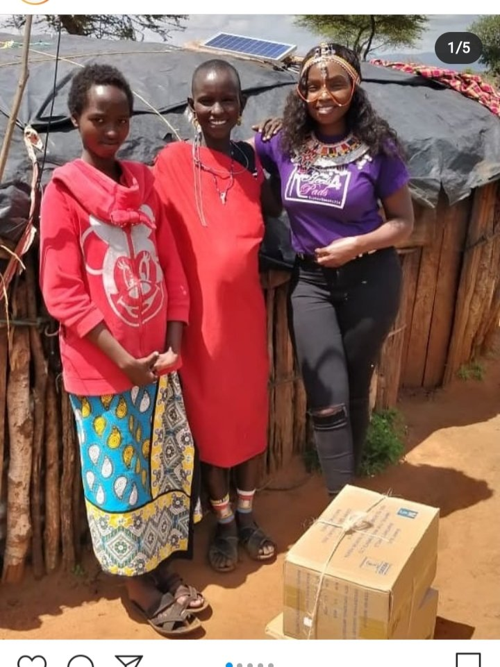 3. The amazing ladies from @sisterspeaks254 have worked to provide sanitary care packages to disadvantaged girls in rural communities. A vital reminder that none should be left behind.  #localheroes #GivingTuesdayKe #COVID19 #GivingTuesday https://t.co/12YSsDLVGd