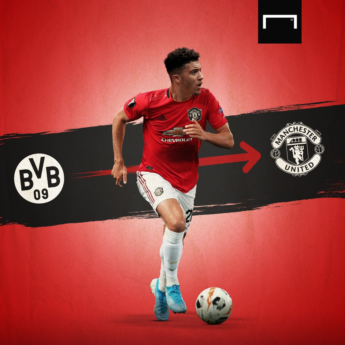 Manchester United will only pay Jadon Sancho's €120 million asking price if they qualify for the Champions League, according to Bild 👀 https://t.co/fDZgUYDnha