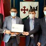 Image for the Tweet beginning: Alcobendas recibe la certificación como