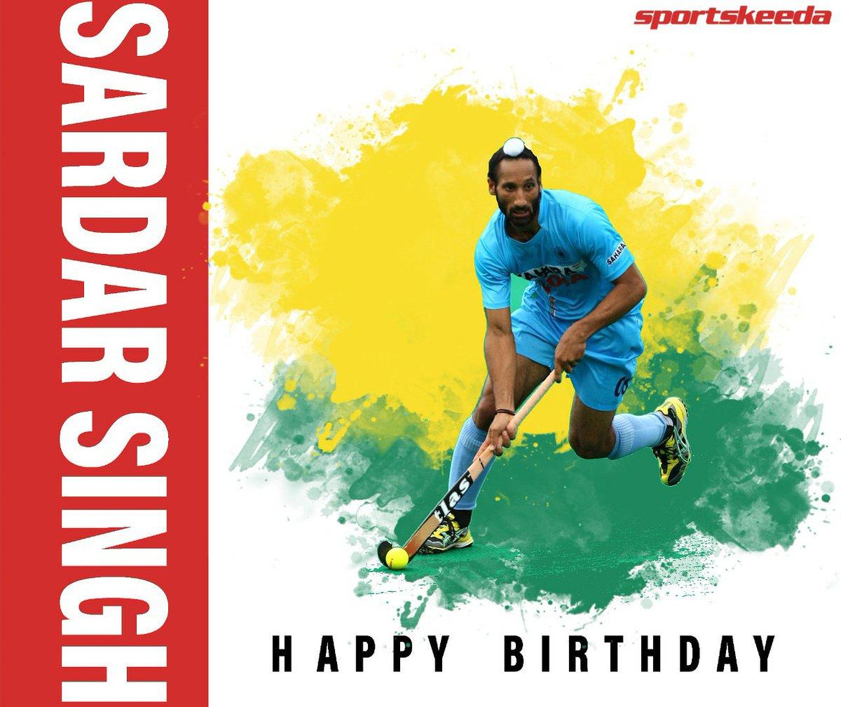 Wishing a very happy birthday to former Indian hockey captain Sardar Singh! @imsardarsingh8 https://t.co/i7tH2uSbQ5
