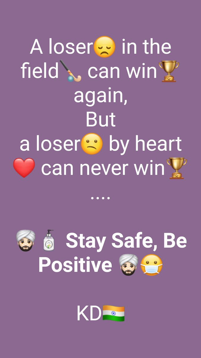 @narendramodi #StaySafe n #BePositive .... #KD🇮🇳 https://t.co/BA2mesbCG7