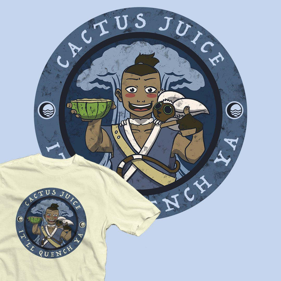 "TOP DESIGN | ""Cactus Juice"" by #KatHaynes  starts at just $12 today only at #TeeFury ⚡ https://t.co/cXFFb8nXE5 https://t.co/fKlJS7TIdo"