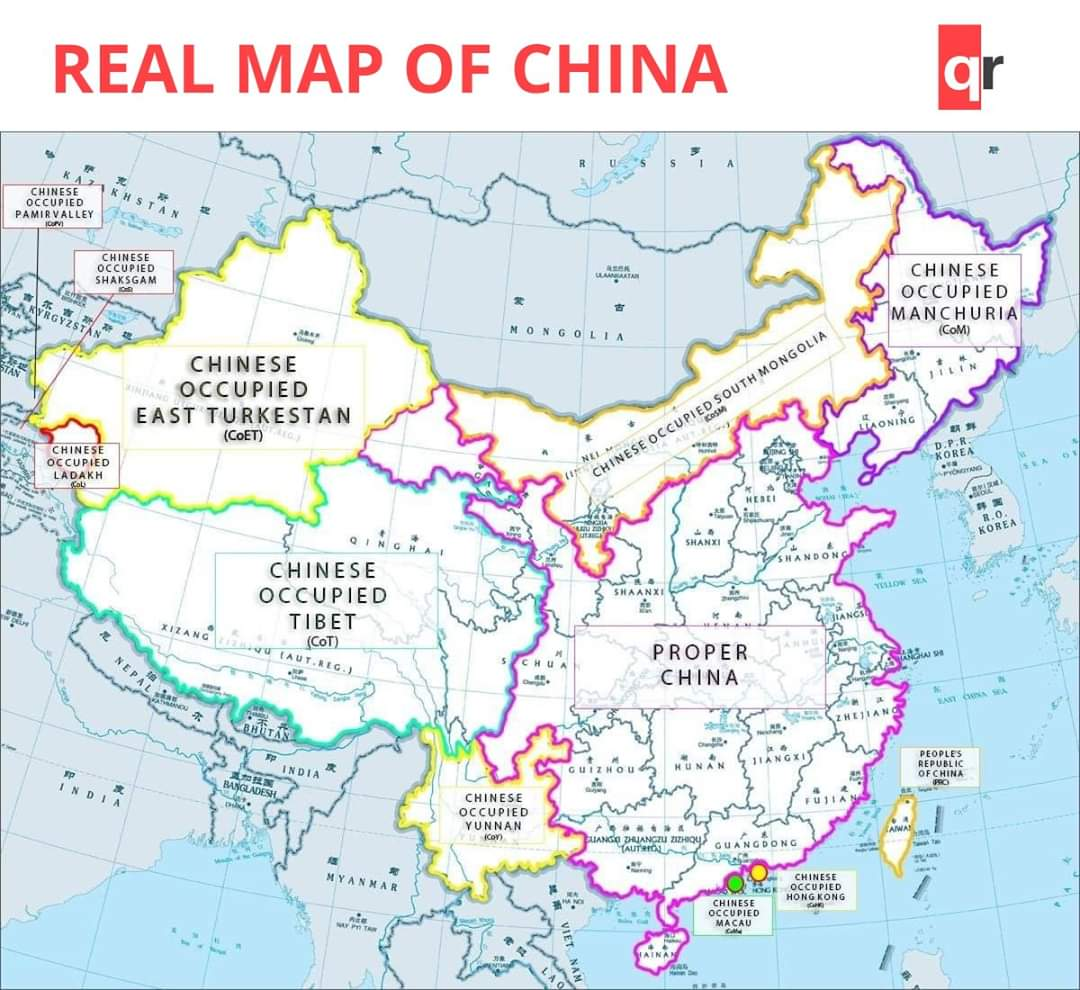 #EastTurkistan is not part of China, it's invaded and occupied by #China same as #Tibet ,China is an invader, stay away from China for your safety https://t.co/sxChUOtS2Y