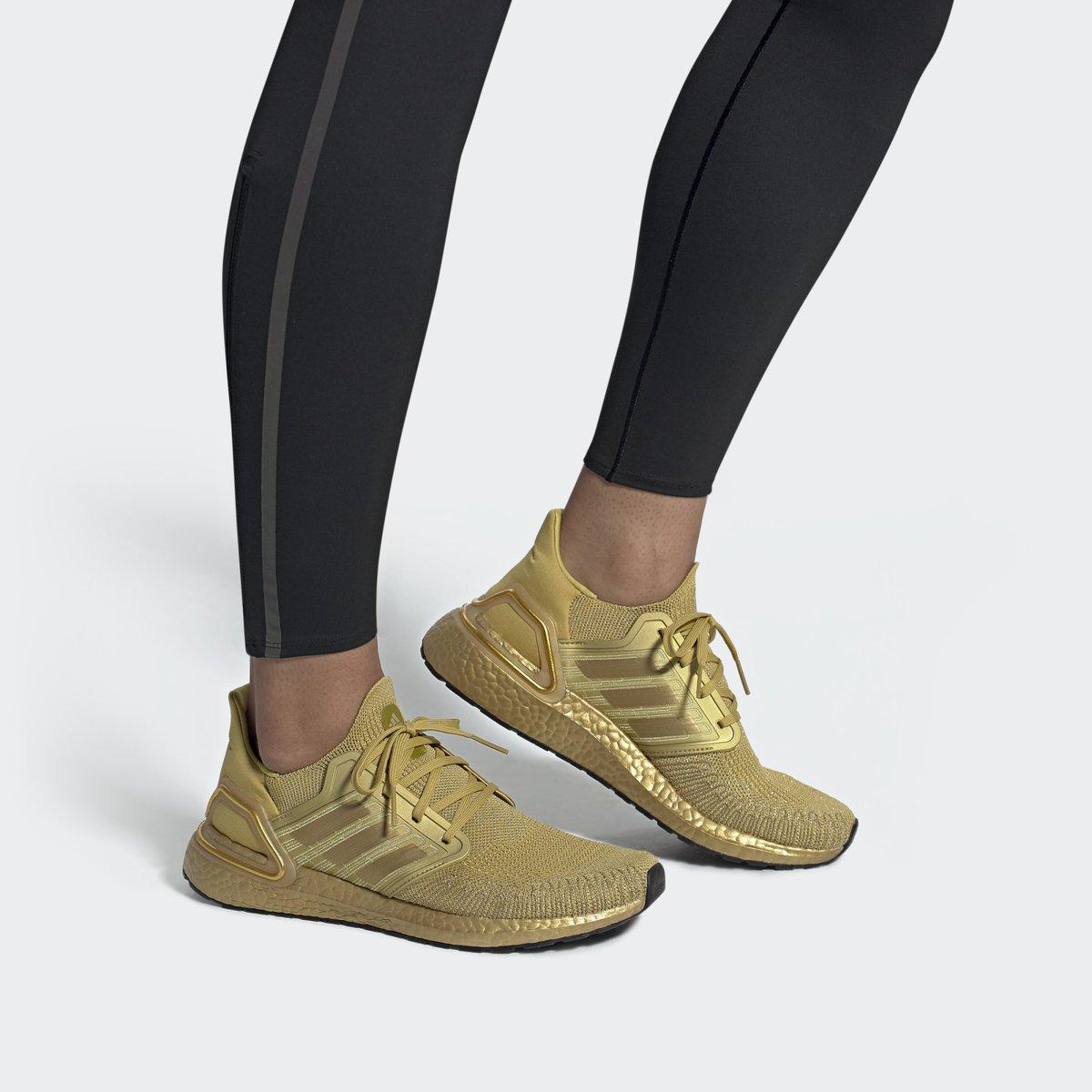 UltraBoost 20 'Gold Metallic'