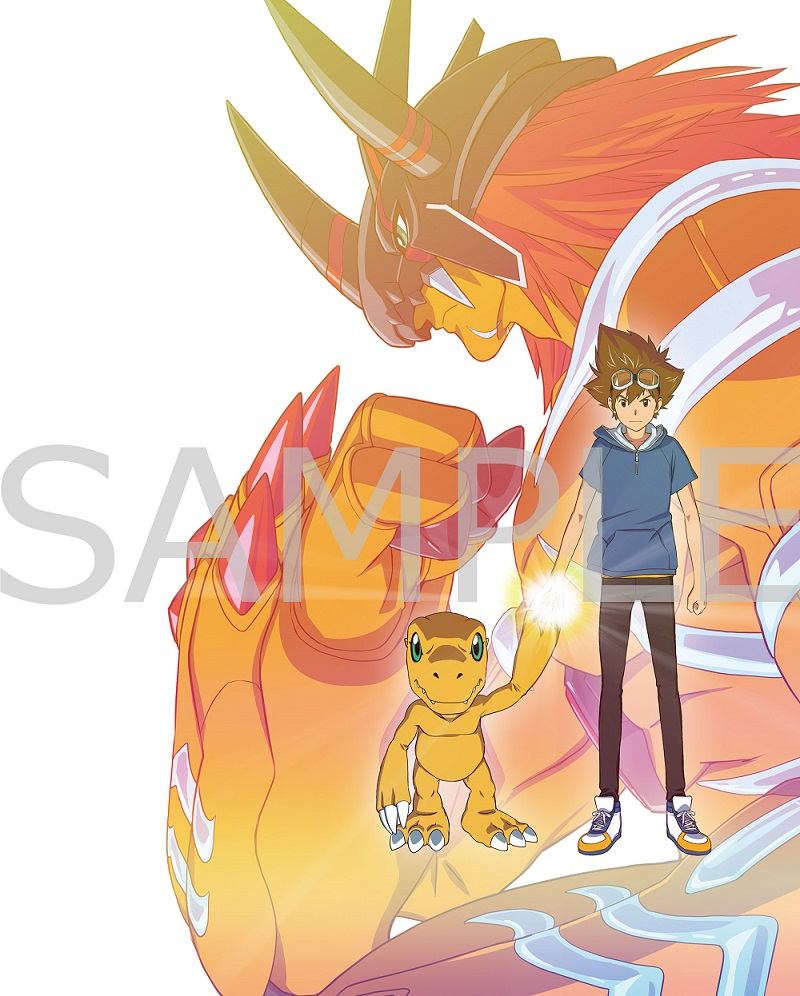 💿Blu-ray&DVD💿🎉9月2日(水)発売🎉お待たせしました。豪華版Blu-rayのBOXデザイン完成表1に太一とアグモン表4にヤマトとガブモンキャラデ・中鶴勝祥さんが『絆』を描いた