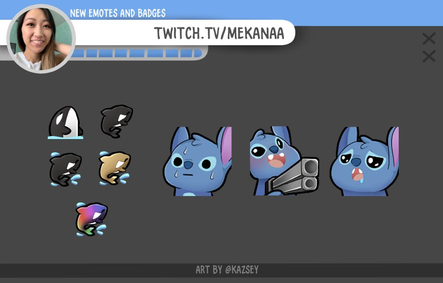 New emotes for @/mekanaa_  Thank you sp much for the support!:)  If you're looking for an Emote Artist, I have open commissions!   #twitchemotes #emoteartist #commissionsopen #artistsupport #twitchaffiliate #TwitchPartnerpic.twitter.com/jG4IviFN42