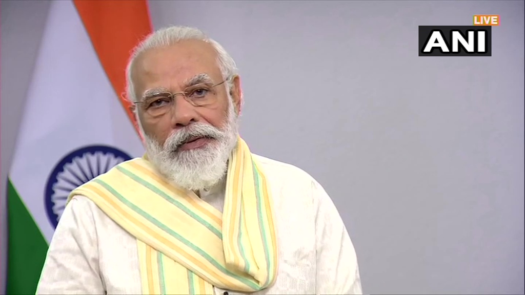 I extend my best wishes to youngsters on World Youth Skill Day today. During this time of #CoronaPandemic, along with work culture, the nature of job has also changed&the ever-changing new technology has also been affected, but youth is gaining new skills in the changing times:PM pic.twitter.com/F0MErXhU4h