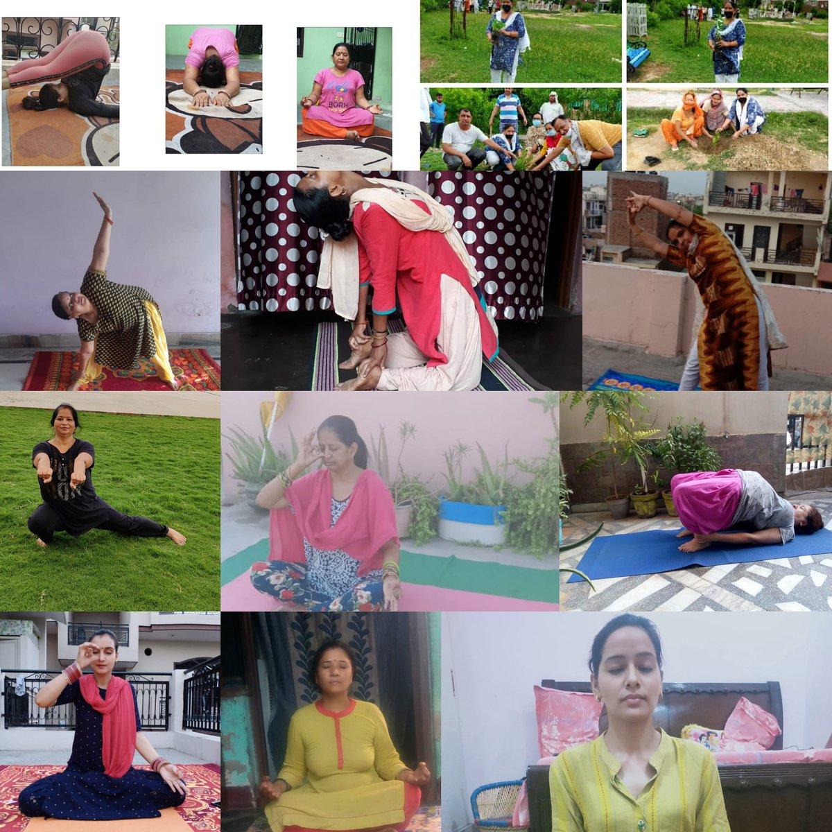 जिम में आप किसी खास अंग का ही व्यायाम कर पाते है जबकि योग से शरीर के संपूर्ण अंग प्रत्यंगों, ग्रंथियों का व्यायाम होता है।जिस वजह से हमारे सारे अंग सुचारू रूप से अपना कार्य करते है क्योंकि योग से हमारे शरीर के अंगों को बल मिलता है।इसलिए हमें नित्य नियम के साथ में योग करना चाहिए। https://t.co/RTRMqbrpyJ