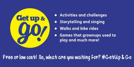 This year's summer Get Up and Go activities in #Leicester feature a week of retro games and a citywide playday timetable including storytelling, a Teddy bears picnic and Leicester's Great Duck Race. Download all you need to take part at families.leicester.gov.uk/GetUpandGo #GetUpandGo