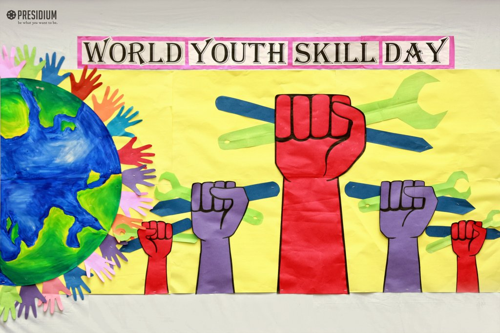 #Young people play crucial role in country's development& society evaluation, they must be taught right & helped to redeem their dreams. #WorldYouthSkillsDay https://t.co/9tEisrrhbN