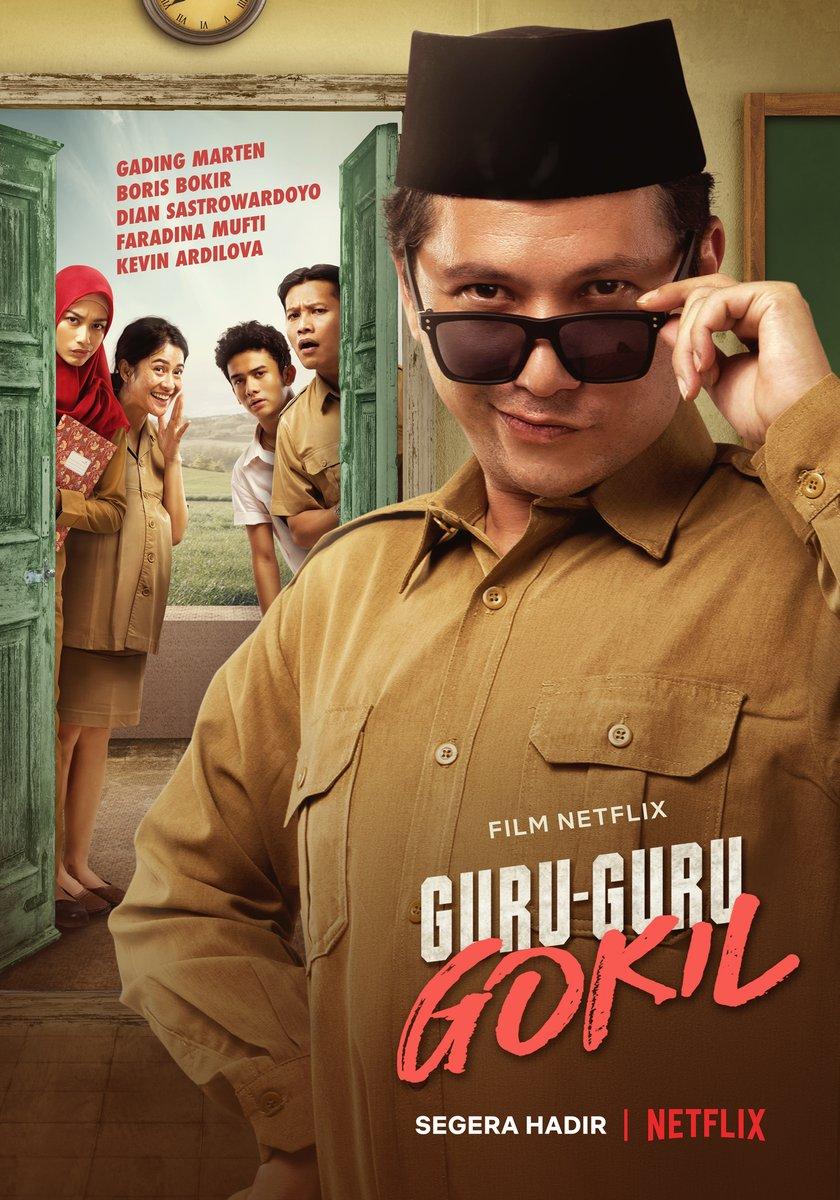PENGUMUMAN, Guru-Guru Gokil akan jadi Film Netflix Original berikutnya dari Indonesia! Diproduseri oleh Dian Sastrowardoyo, film ini ekslusif tayang di Netflix. Tunggu tanggalnya! https://t.co/cDcmENeNqL