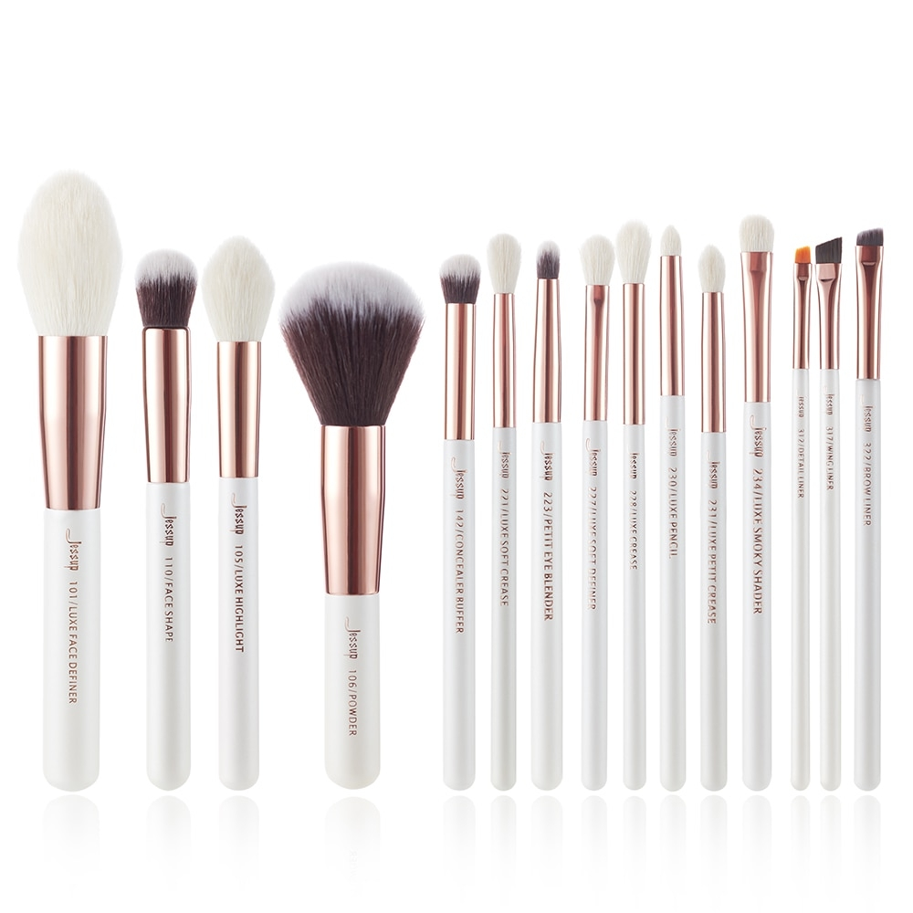 #weightlossjourney #exercise White Handle Makeup Brushes 15 pcs/Setpic.twitter.com/cFRCEQioFt