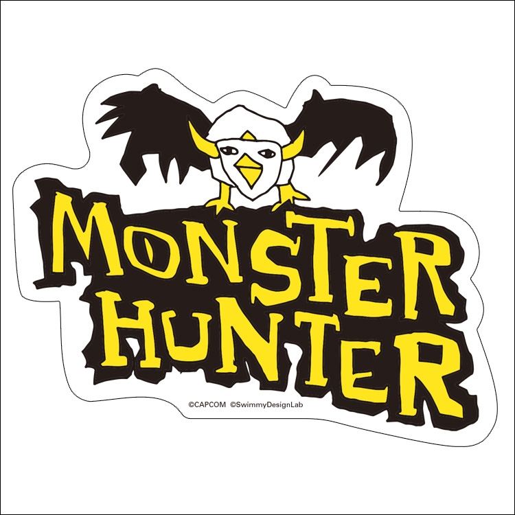 There's an official set of #MonsterHunter stickers in Japan made by SwimmyDesignLab, which are known for their... Loosely based designs and I'm just dying while looking at them. <br>http://pic.twitter.com/k5kWFkUjKG