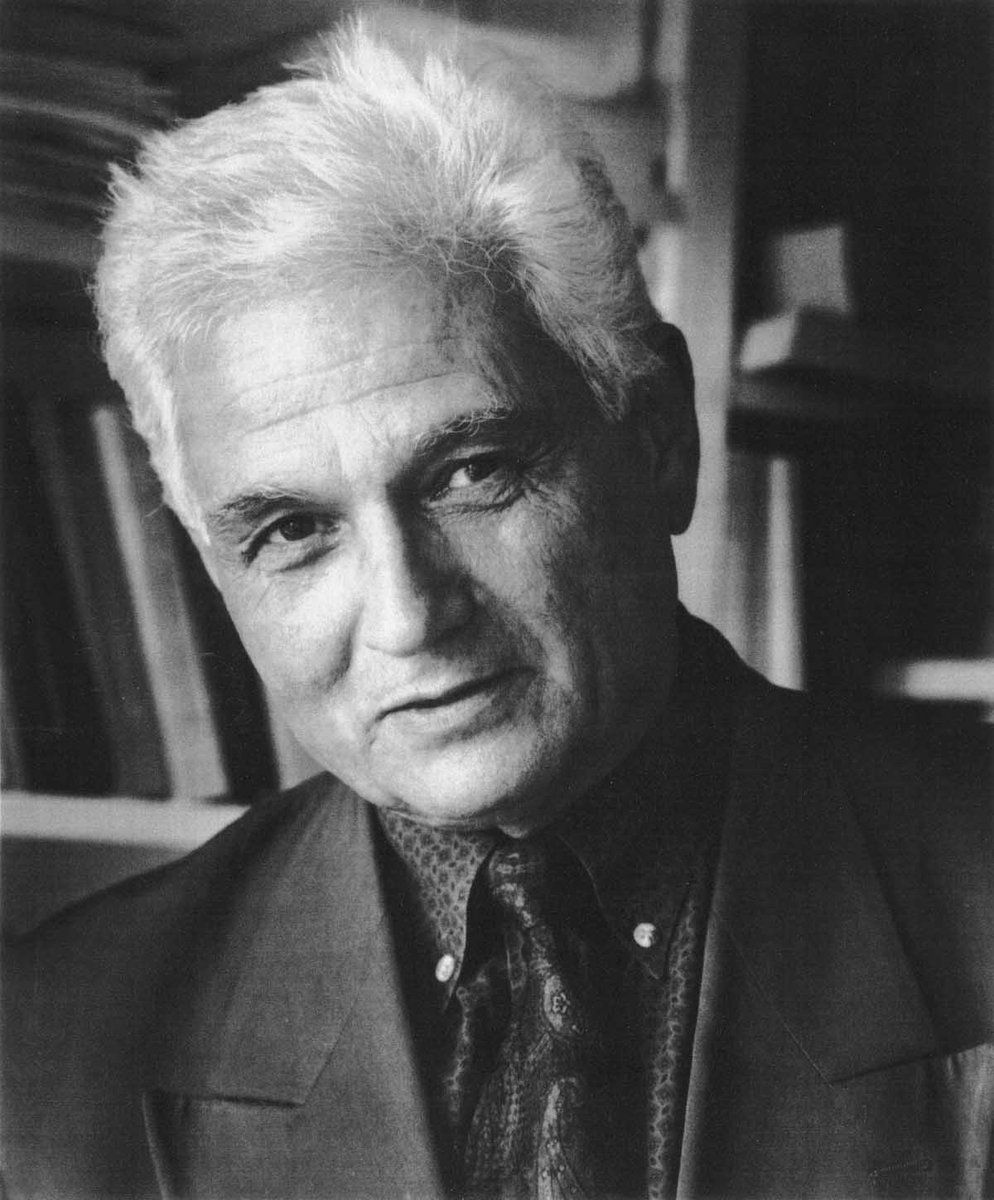 Jacques Derrida, 15 juillet 1930 - 9 octobre 2004. https://t.co/M16gNkAXTZ